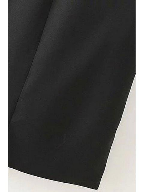 outfit Lapel Zipper Pocket Sleeveless Waistcoat - GRAY S Mobile
