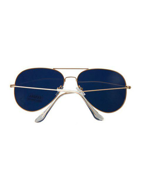 women's Golden Full Frame Sunglasses - YELLOW  Mobile