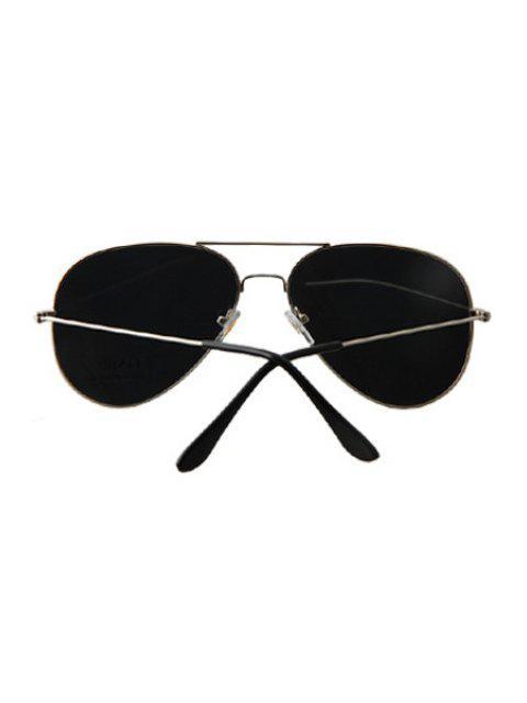 shops Silver Full Frame Sunglasses - LIGHT GRAY  Mobile