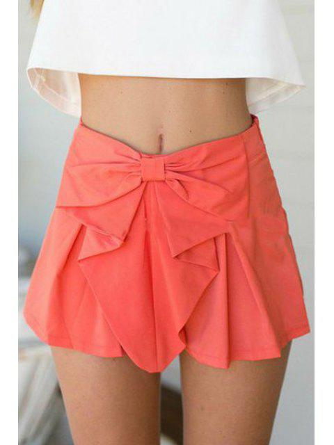 hot Candy Color High Waisted Shorts - WATERMELON RED S Mobile