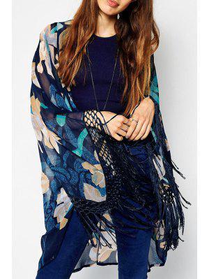 Kimono à Manches Longues Sans Collier - M