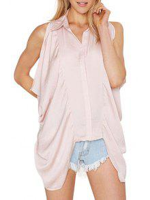 Camisa Sin Mangas Rosa Sin Mangas - Rosa M