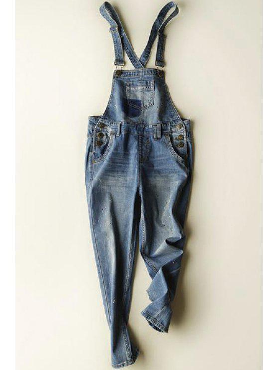 buy Sequins Nine Minutes of Denim Overall - BLUE S
