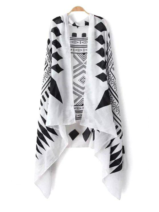 affordable Rhombus Print Pashmina - AS THE PICTURE