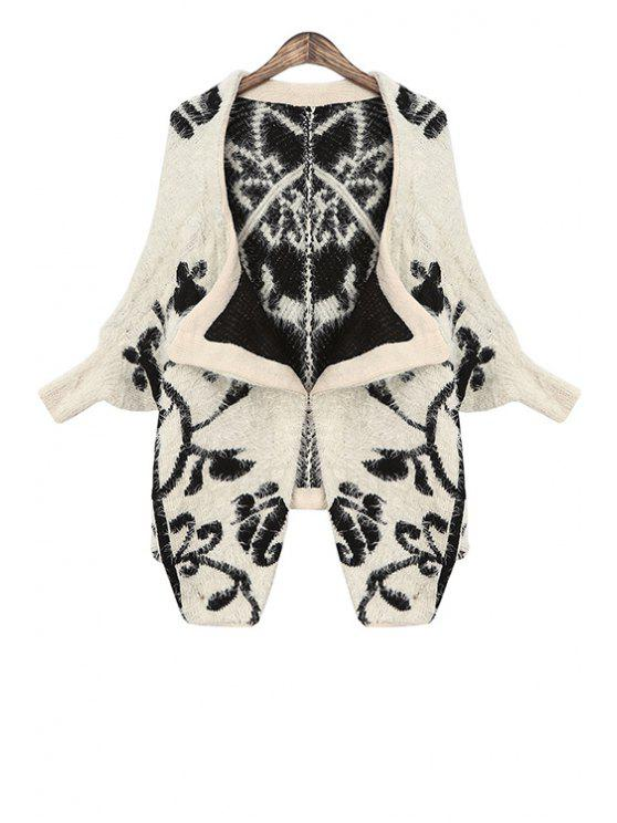 outfit Bat-Wing Shape Loose-Fitting Irregular Cardigan - APRICOT ONE SIZE(FIT SIZE XS TO M)
