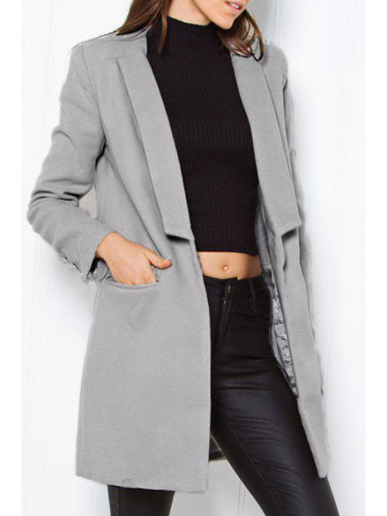 Manteau en mousse Worsted - Gris S