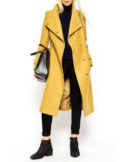 Abrigo De Cintura Para El Cuello - Amarillo L
