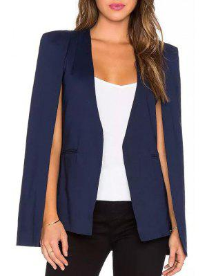 Solid Color V Neck Blazer