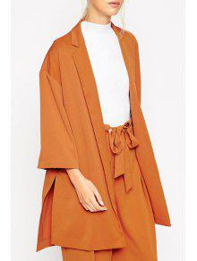 Premium Kimono - Camel S