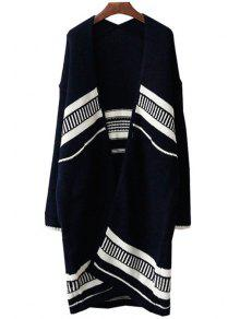 Buy Open Front Loose-Fitting Long Cardigan - CADETBLUE ONE SIZE(FIT SIZE XS TO M)