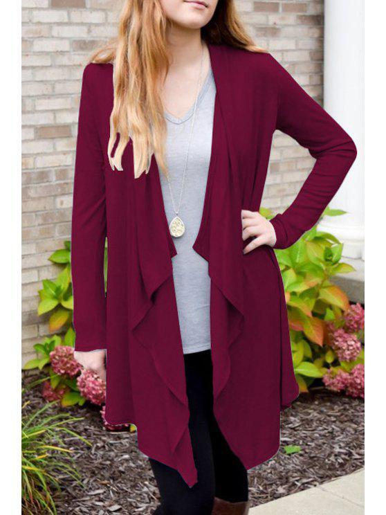 Manteau mince en vrac - Rose L