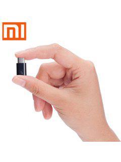 Original XiaoMi USB Type-C Mâle à Micro USB Female Connecteur Pour Foyer / Bureau - Noir