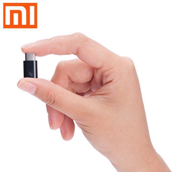 Original XiaoMi USB Type-C Male to Micro USB Female Connector for Home / Office