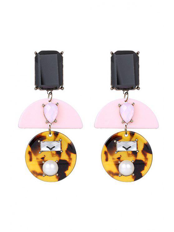 fashion Jewelry Geometry Earrings - COLORMIX
