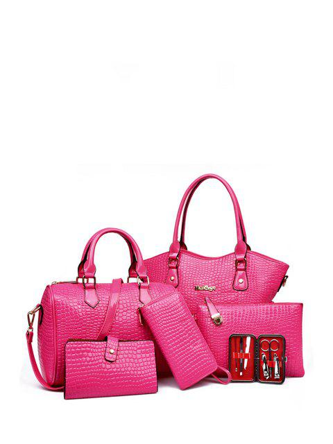 fashion Stone Pattern Solid Color Tote Bag -   Mobile
