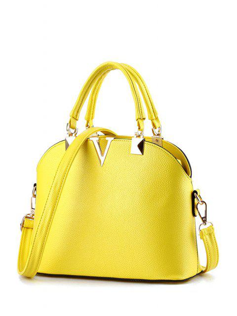 V-Shape metal en relieve la bolsa de asas - RAL1012 Limón Amarillo  Mobile