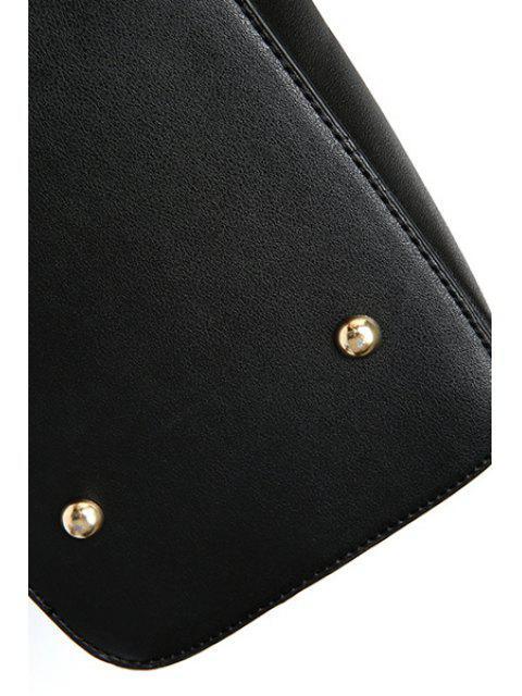 Solide Sac à bandoulière Couleur Metal Moraillon - Blanc Cassé  Mobile
