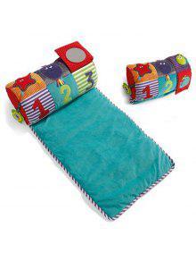 الملونة الموسيقى الرضع بطانية حصيرة لينة وسادة السرير التنموية لعبة