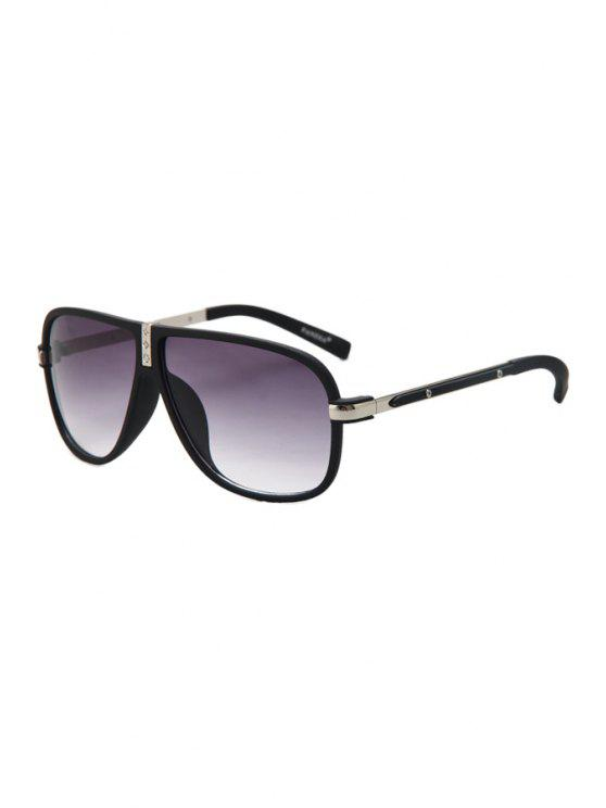 chic Big Frame Sunglasses - SILVER