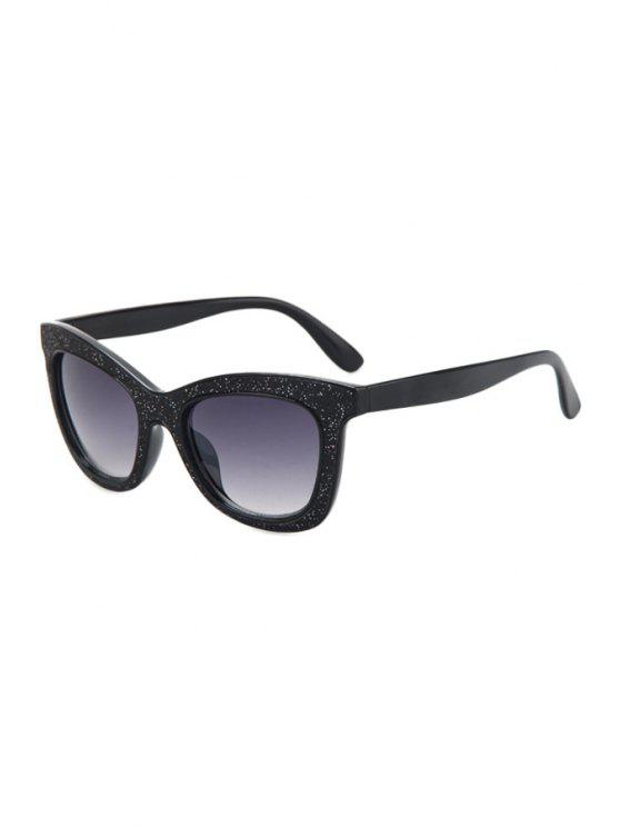 affordable Glitter Powder Frame Sunglasses - PURPLE