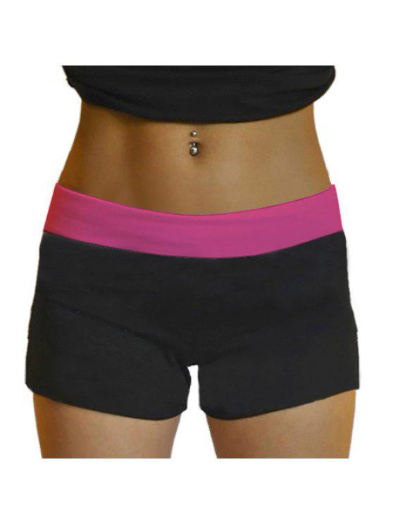 unique Stretchy Yoga Shorts - ROSE ONE SIZE(FIT SIZE XS TO M)
