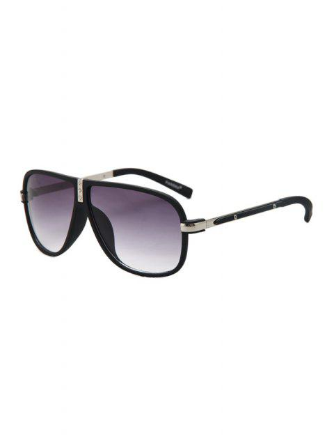 chic Big Frame Sunglasses - SILVER  Mobile