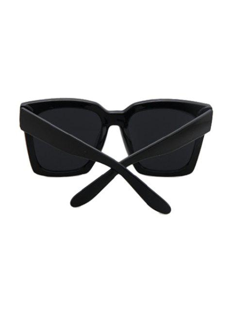 chic Black Quadrate Sunglasses -   Mobile