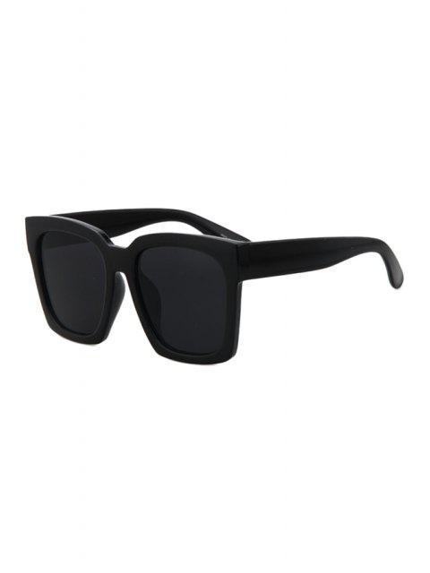 chic Black Quadrate Sunglasses - BLACK  Mobile