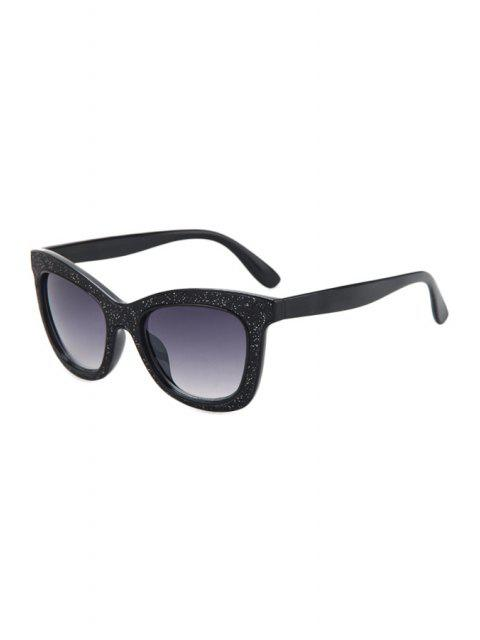 affordable Glitter Powder Frame Sunglasses - PURPLE  Mobile