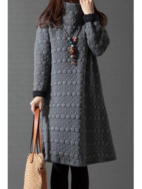 Robe thermique à col roulé A-Line - Gris XL Mobile