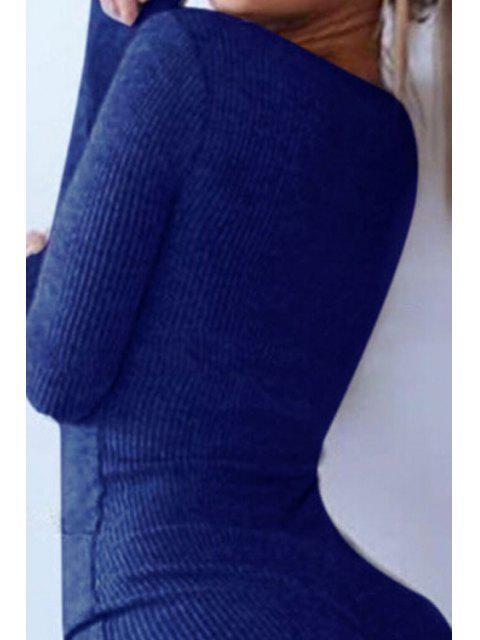 Diseño del botón del color sólido - Azul XL Mobile