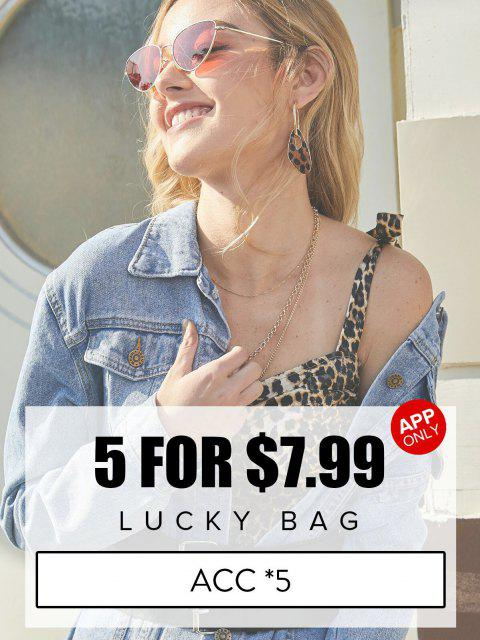 online ZAFUL Lucky Bag - 5 Random Item Included - Only Jewelry & Hair Accessories Category - Limited Quantity - MULTI  Mobile