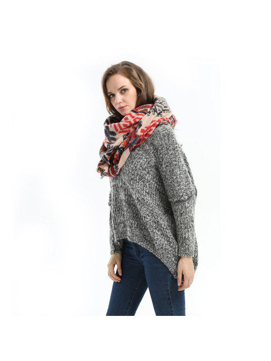 affordable 2016 Autumn Winter New Arrival Female High Quality Long Lightweight Acrylic Scarf  Shawl Dual-use - AS THE PICTURE ONE SIZE