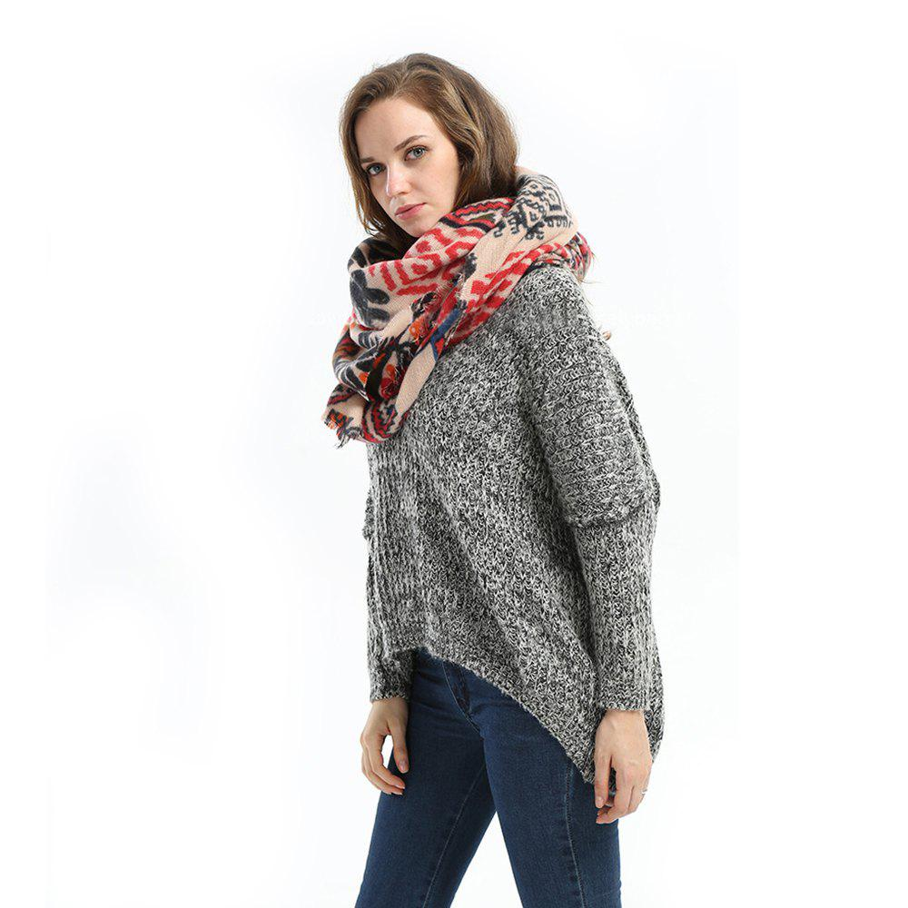 2016 Autumn Winter New Arrival Female High Quality Long Lightweight Acrylic Scarf Shawl Dual use 189220901