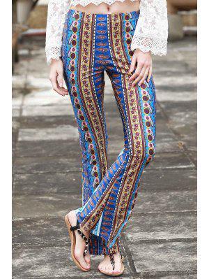 Border Imprimir Campana Pantalones