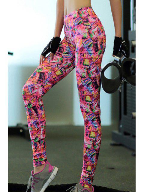 new Printed Skinny Yoga Pants -   Mobile