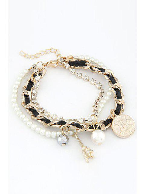 outfits Multi-Layered Eiffel Tower Bracelet -   Mobile
