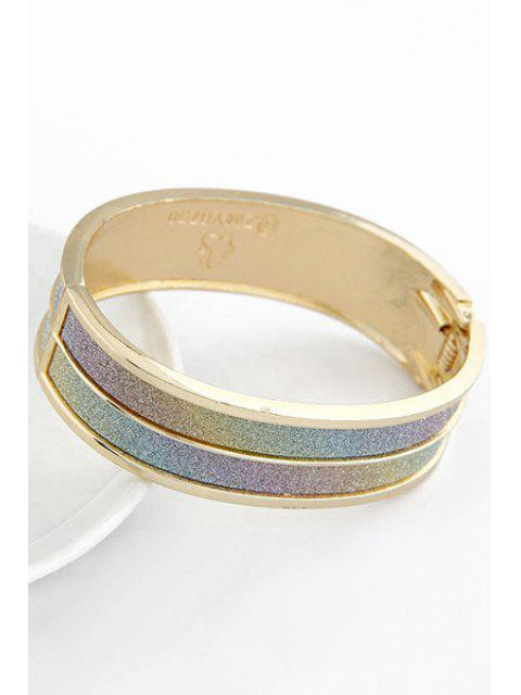 womens Chunky Cuff Bracelet - COLORMIX  Mobile