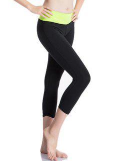 Actifs Pantalon Taille élastique Extensible Gym Pour Les Femmes - Céladon 2xl