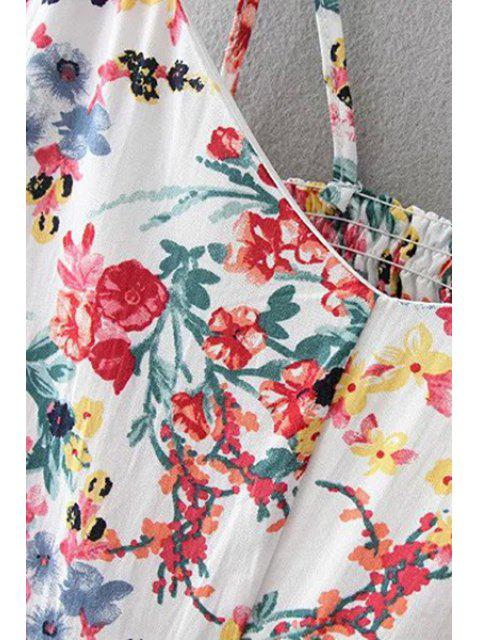 new Floral Print Cami Dress - YELLOW M Mobile