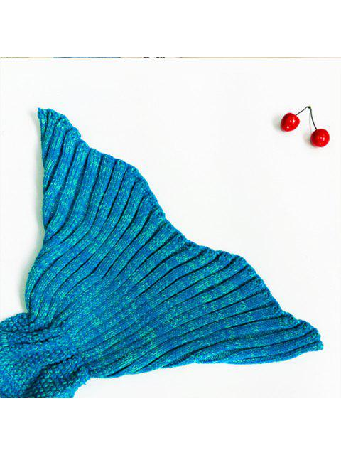 online Knitted Mermaid Blanket -   Mobile
