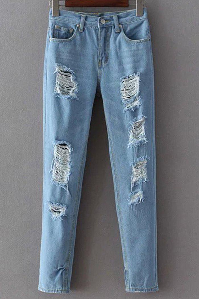 Destroyed Skinny Jean