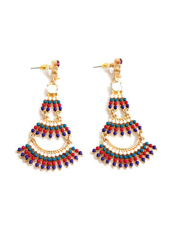Stylish Bohemia Multi-Layered Earrings - Multicolore