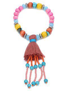 Stylish Ethnic Colorful Bead Bracelet