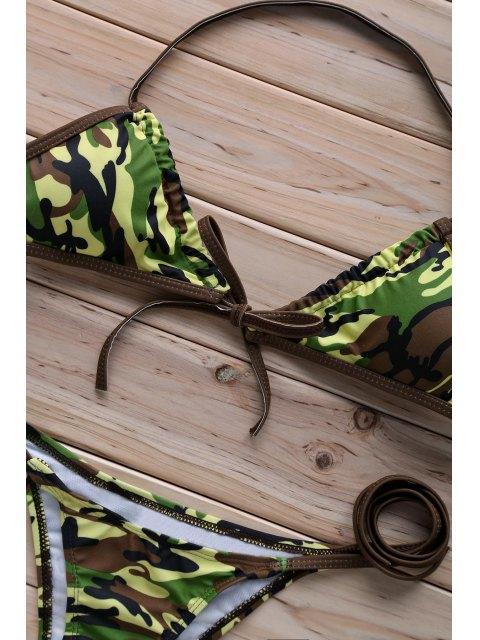 outfit Halter Camo   Bikini Set - CAMOUFLAGE S Mobile