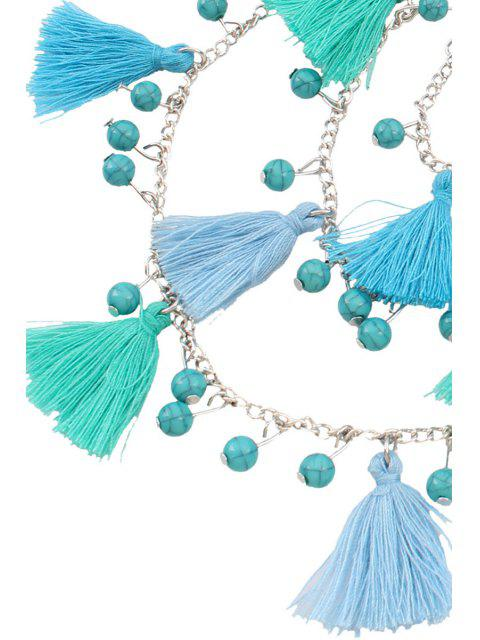 outfits Bohemia Coin Tassel Multi-Layered Necklace -   Mobile