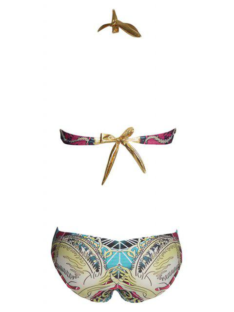 sale Printed Padded One-Piece Swimwear - COLORMIX S Mobile