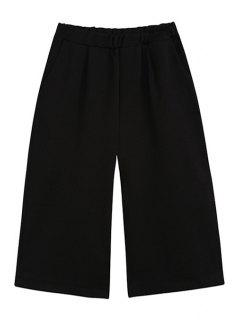 Pantacourt Pantalon Large - Noir M