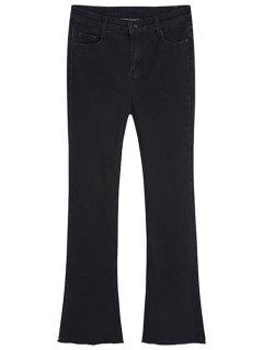 Boot Cut Jeans - Black Xl