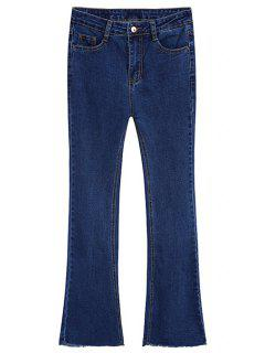 Boot Cut Jeans - Deep Blue Xl